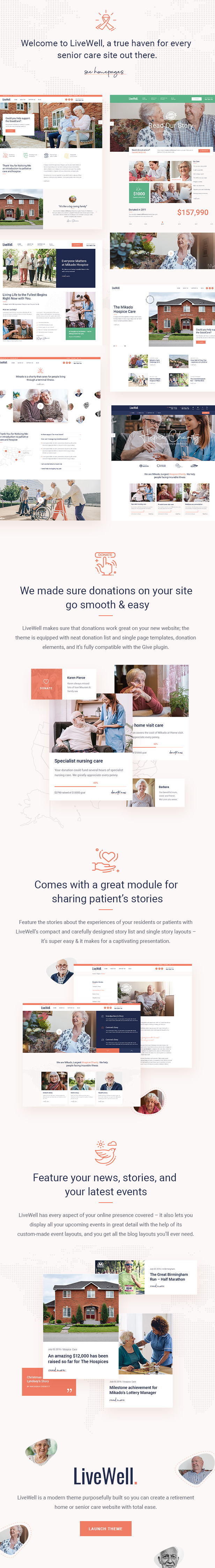 LiveWell - Senior Care Theme - 2